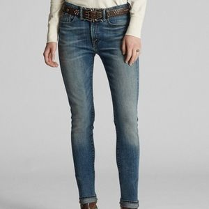 Ralph Lauren Anderson Wash Skinny Stretch Jean